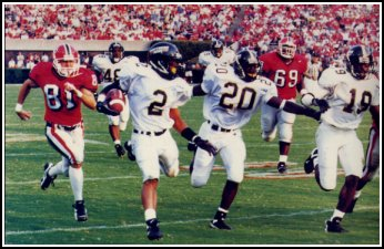 Southern Miss in the 1990's